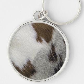Cowhide Key Ring