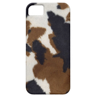 Cowhide Leather Print Pattern iPhone 5 Barely There iPhone 5 Case