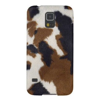 Cowhide Leather Print Samsung Galaxy Nexus Galaxy S5 Cases