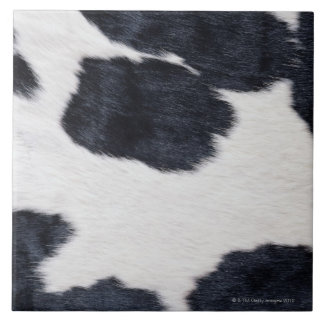 Cowhide Print Large Square Tile