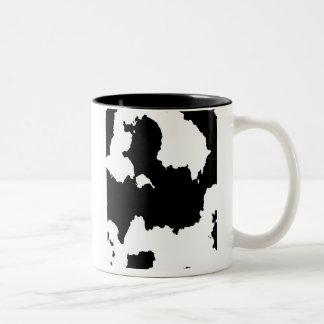 Cowhide Print ~ Two -Tone Mug