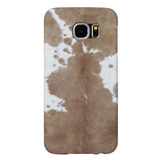 Cowhide Samsung Galaxy S6 Cases