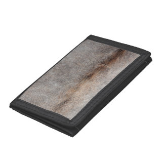 Cowhide Trifold Wallets