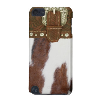 """Cowhide"" Western IPod Touch Case"