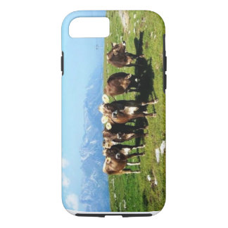 Cowing Around The Alps iPhone 7 case