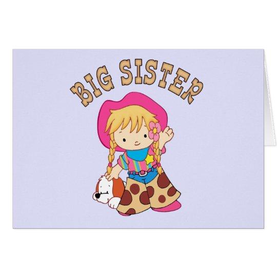 Cowkids Big Sister Card