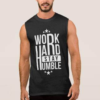 Coworker star Work hard stay humble Motivational Sleeveless Shirt