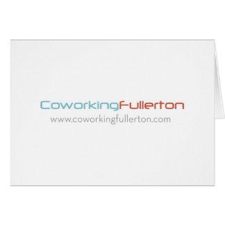 CoWorking Fullerton Greeting Card