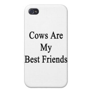 Cows Are My Best Friends iPhone 4 Case