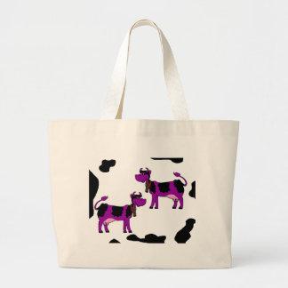 Cows Canvas Bag