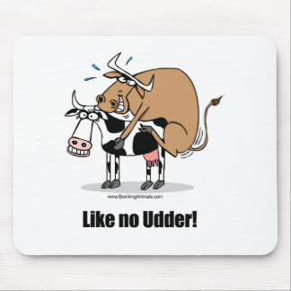 cows boinking mouse pad