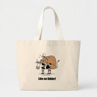 cows boinking jumbo tote bag
