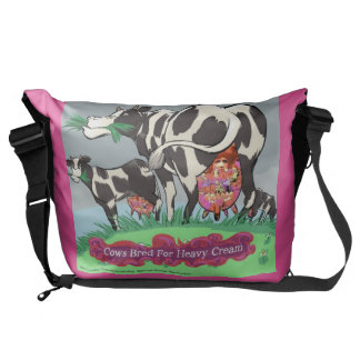 Cows Bred 4 Heavy Cream Funny Messenger Bag
