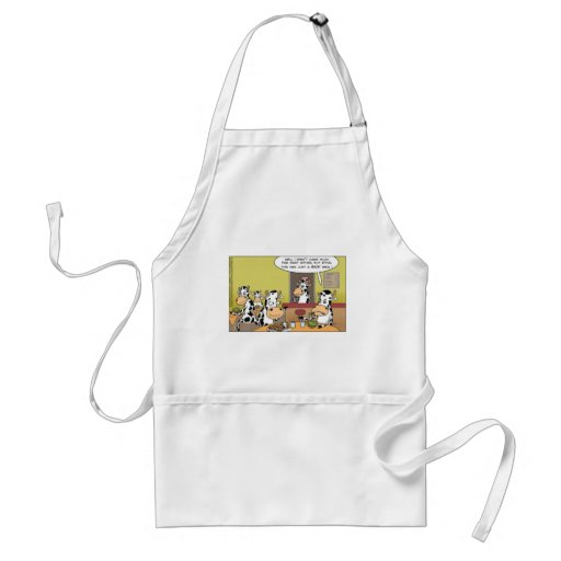 Cows Eating Steak Funny Tees Mugs Cards & Gifts Aprons