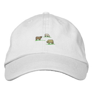 Cows Embroidered Cap