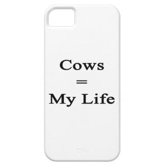 Cows Equal My Life iPhone 5 Covers