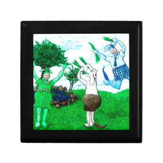 Cows in Skirts and Dresses Gift Box
