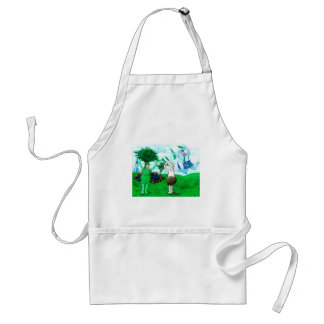 Cows in Skirts and Dresses Standard Apron