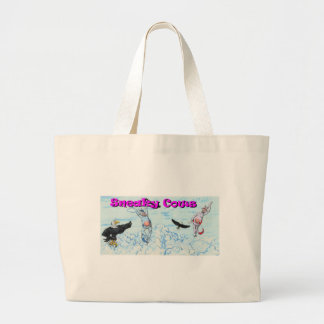 Cows in the Clouds Jumbo Tote Bag