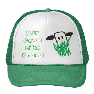 Cows Like Grass Hat