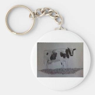 cows moo key chain