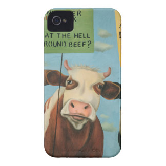 Cows On Strike iPhone 4 Case
