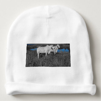 COWS QUEENSLAND AUSTRALIA WITH ART EFFECTS BABY BEANIE