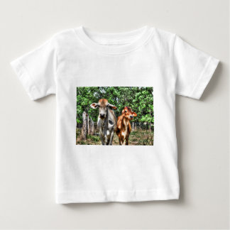 COWS RURAL QUEENSLAND AUSTRALIA ART EFFECTS BABY T-Shirt