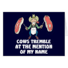 Cows Tremble Card