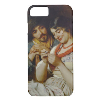 Coy Seamstress 1890 iPhone 7 Case