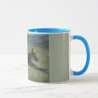 Coyote 11 oz Ringer Mug