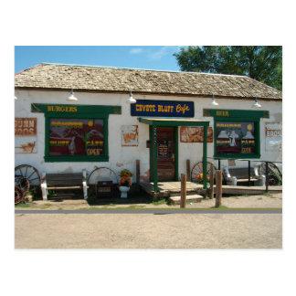 Coyote Bluff Cafe in Amarillo, Texas | Postcard