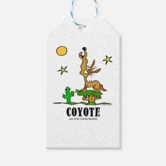 Coyote by Lorenzo © 2018 Lorenzo Traverso Gift Tags