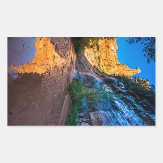 Coyote Gulch Sunrise - Utah Rectangular Sticker