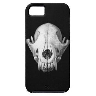 Coyote Skull Black Iphone5 Case