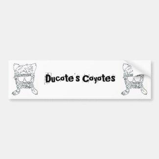 Coyote Swag Bumper Sticker