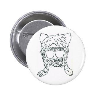 Coyote Swag Button