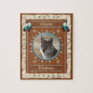 Coyote  -Trickster- Jigsaw Puzzle w/ Box