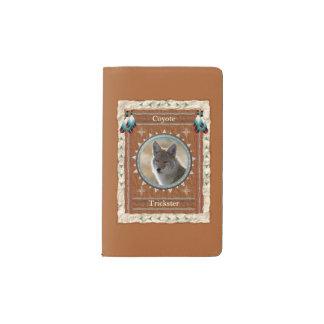 Coyote  -Trickster- Notebook Moleskin Cover