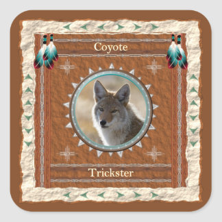 Coyote  -Trickster- Stickers - 20 per sheet