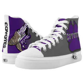Coyotes Hight Tops Printed Shoes