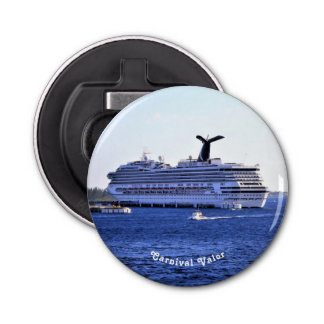 Cozumel Cruise Ship Visit Custom Bottle Opener