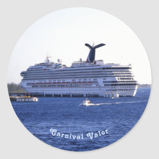 Cozumel Cruise Ship Visit Custom Classic Round Sticker