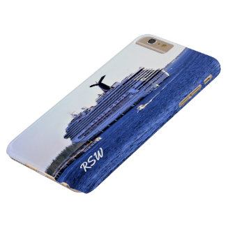 Cozumel Cruise Ship Visit Monogrammed Barely There iPhone 6 Plus Case