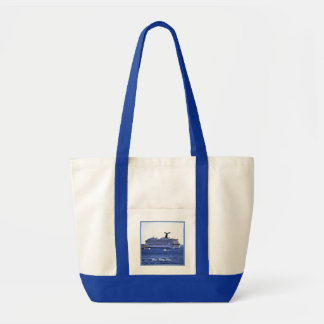 Cozumel Cruise Ship Visit Personalized Tote Bag