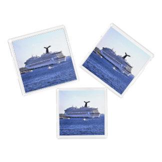 Cozumel Cruise Ship Visitor Acrylic Tray
