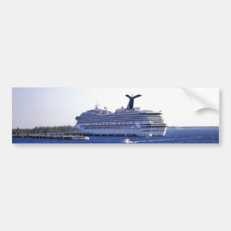 Cozumel Cruise Ship Visitor Bumper Sticker