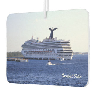 Cozumel Cruise Ship Visitor Car Air Freshener