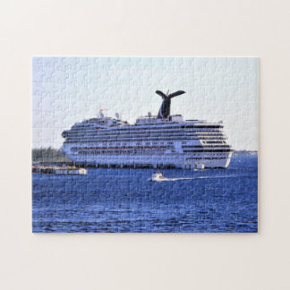 Cozumel Cruise Ship Visitor Jigsaw Puzzle
