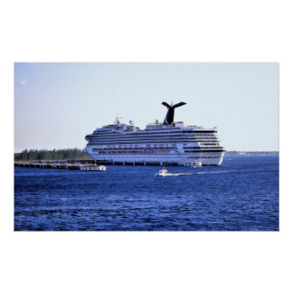 Cozumel Cruise Ship Visitor Poster